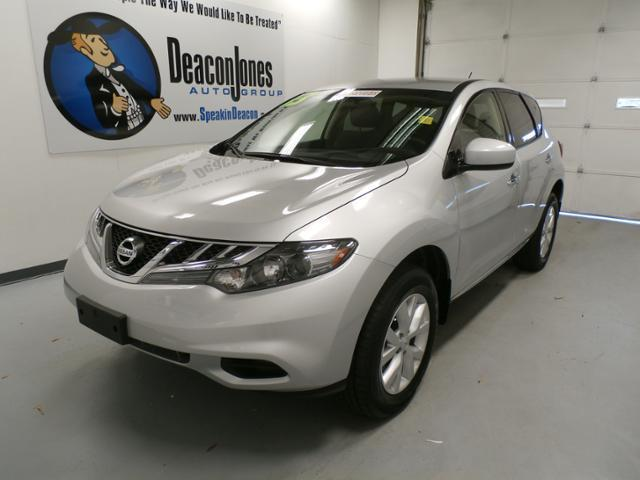 2013 Nissan Murano S SUV for sale in Goldsboro for $24,990 with 14,985 miles.