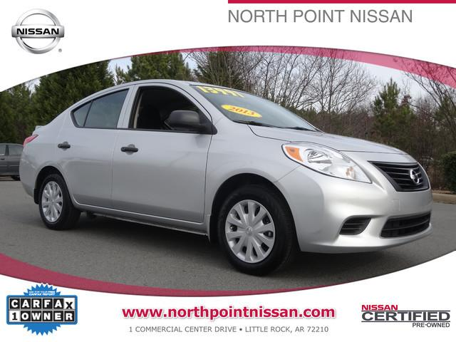 2013 Nissan Versa 1.6 S Sedan for sale in Little Rock for $13,991 with 15,083 miles.