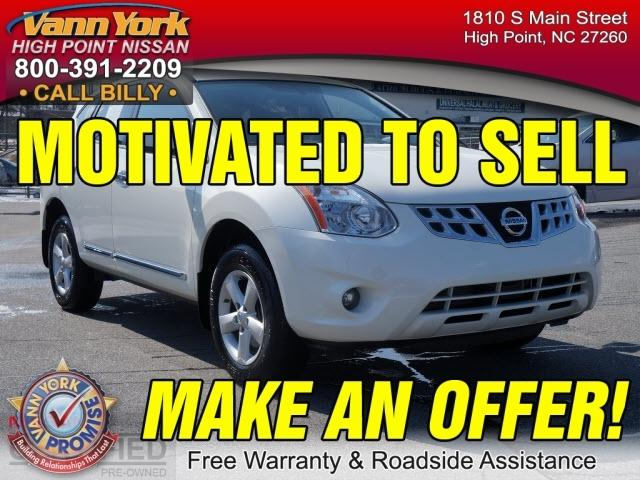 2013 Nissan Rogue S SUV for sale in High Point for $19,947 with 9,831 miles.