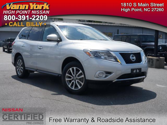 2013 Nissan Pathfinder S SUV for sale in High Point for $24,947 with 40,030 miles