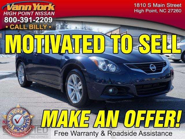 2012 Nissan Altima 2.5 S Coupe for sale in High Point for $17,947 with 28,708 miles