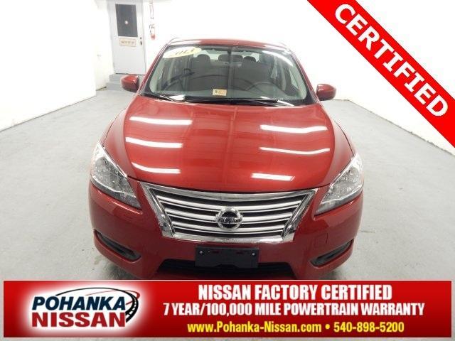 2013 Nissan Sentra FE+ S Sedan for sale in Fredericksburg for $14,999 with 6,680 miles.