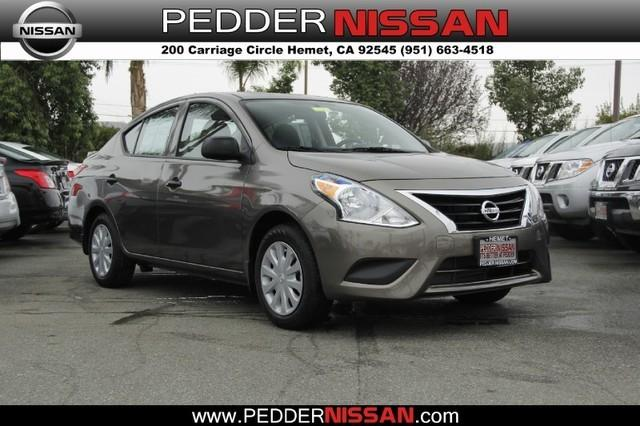 2015 Nissan Versa 1.6 S+ Sedan for sale in Hemet for $12,598 with 878 miles.