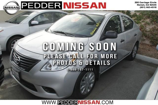 2014 Nissan Versa 1.6 S+ Sedan for sale in Hemet for $11,998 with 25,260 miles.