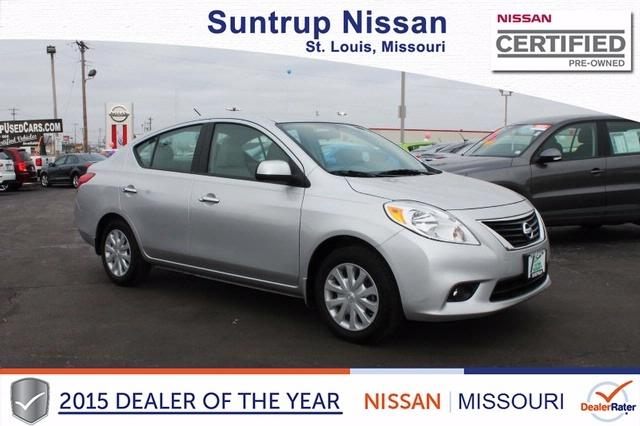 2012 Nissan Versa 1.6 SV Sedan for sale in Saint Louis for $12,597 with 38,602 miles.