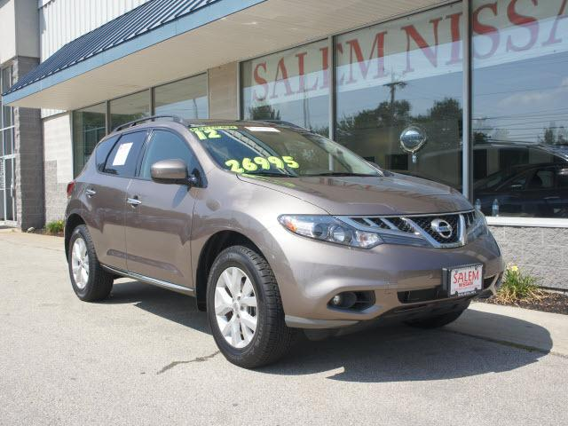 2012 Nissan Murano SL SUV for sale in Salem for $26,995 with 45,707 miles.