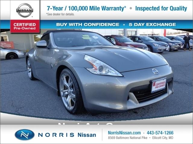 2010 Nissan 370Z Convertible for sale in Ellicott City for $22,000 with 41,376 miles.