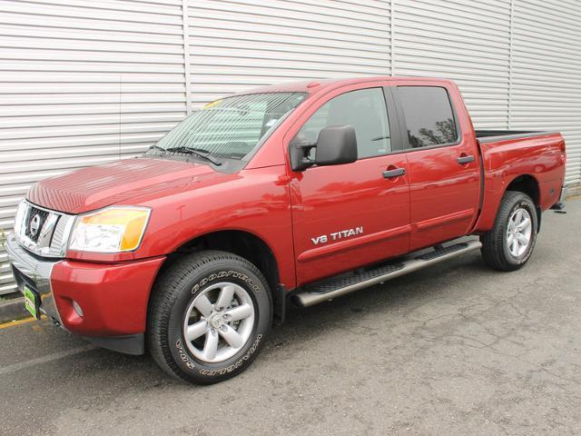 2013 Nissan Titan 4X4/SV/PREM/ VTP PKG for sale in Everett