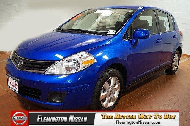 2012 Nissan Versa 1.8 S Hatchback for sale in Flemington for $12,590 with 14,560 miles