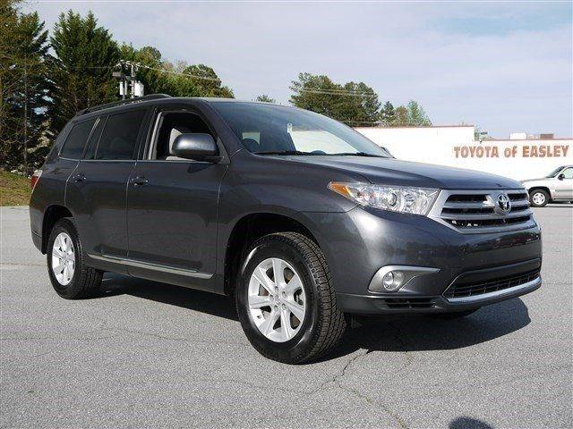 2012 Toyota Highlander Base SUV for sale in Easley for $28,950 with 34,812 miles