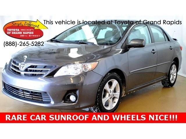 2013 Toyota Corolla LE Sedan for sale in Grand Rapids for $17,997 with 26,315 miles.