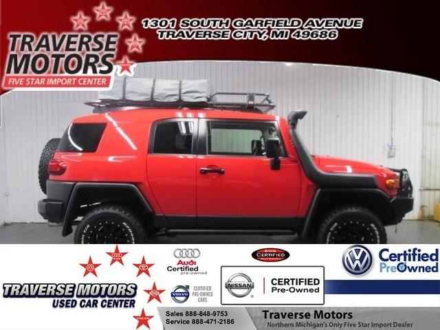 2012 Toyota FJ Cruiser Base SUV for sale in Traverse City for $38,988 with 10,051 miles.