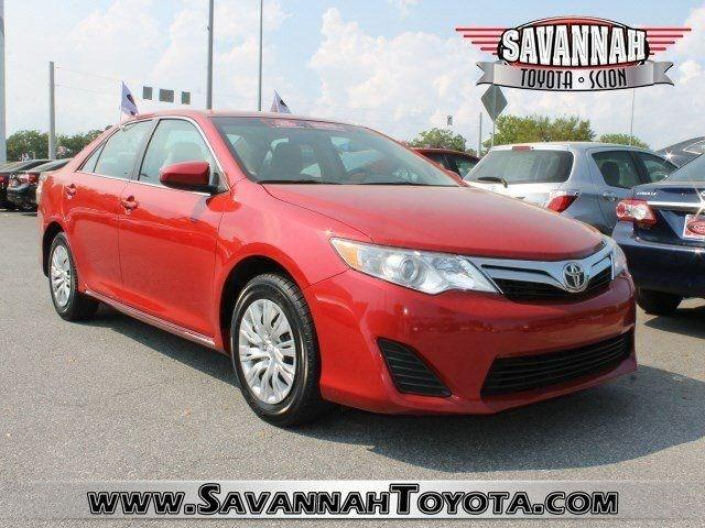 2012 Toyota Camry LE Sedan for sale in Savannah for $16,991 with 50,531 miles