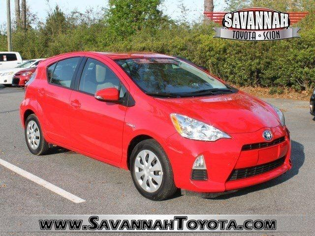 2013 Toyota Prius C Hatchback for sale in Savannah for $15,991 with 34,948 miles