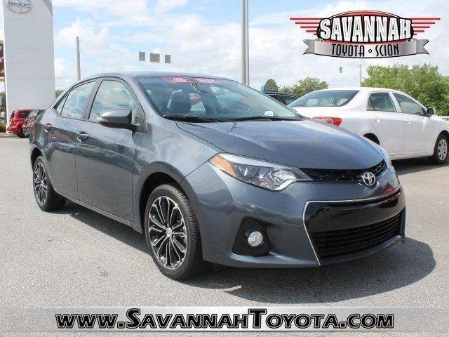 2014 Toyota Corolla S Plus Sedan for sale in Savannah for $16,991 with 14,073 miles