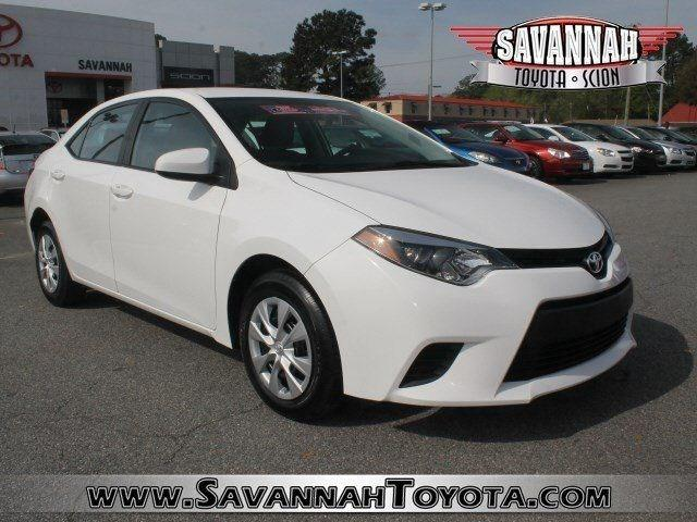 2014 Toyota Corolla Sedan for sale in Savannah for $16,991 with 35,098 miles