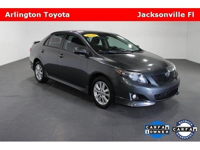 2010 Toyota Corolla S Sedan for sale in Jacksonville for $13,981 with 69,466 miles.
