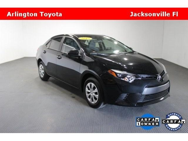 2015 Toyota Corolla Sedan for sale in Jacksonville for $18,560 with 1,660 miles