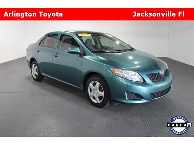 2010 Toyota Corolla LE Sedan for sale in Jacksonville for $10,680 with 82,553 miles.