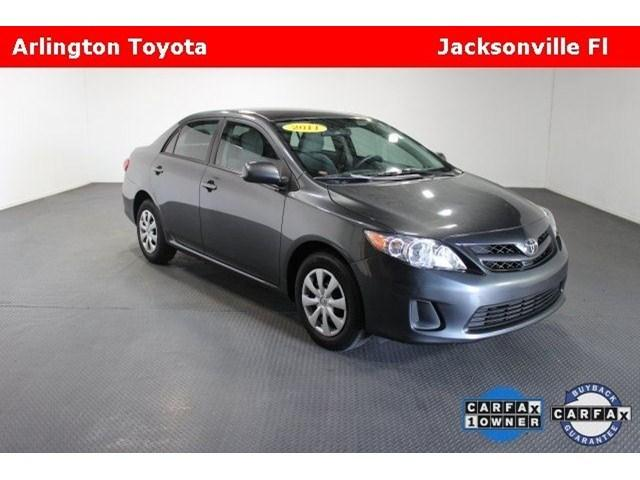 2011 Toyota Corolla LE Sedan for sale in Jacksonville for $13,790 with 41,030 miles.