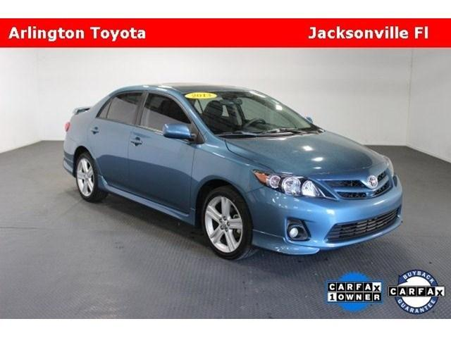 2013 Toyota Corolla Sedan for sale in Jacksonville for $16,991 with 31,988 miles
