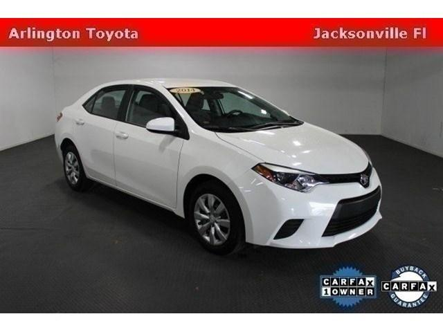 2014 Toyota Corolla Sedan for sale in Jacksonville for $16,880 with 28,022 miles