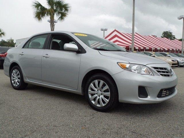 2013 Toyota Corolla LE Sedan for sale in Jacksonville for $15,791 with 42,702 miles