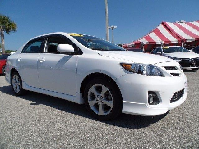 2011 Toyota Corolla S Sedan for sale in Jacksonville for $14,591 with 10,126 miles