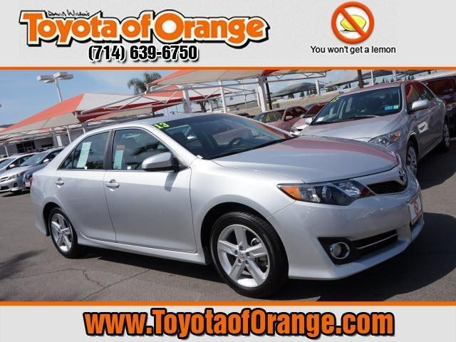 2013 Toyota Camry Sedan for sale in Orange for $22,999 with 13,539 miles