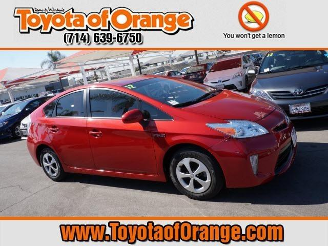 2012 Toyota Prius Two Hatchback for sale in Orange for $20,999 with 31,597 miles.