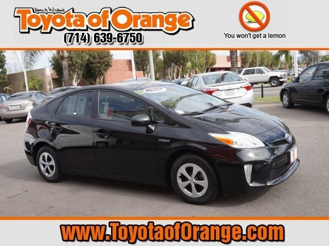 2013 Toyota Prius Hatchback for sale in Orange for $22,999 with 53,158 miles.