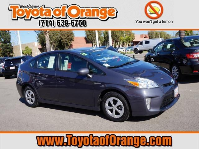 2012 Toyota Prius Two Hatchback for sale in Orange for $18,999 with 52,519 miles.
