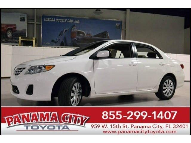2013 Toyota Corolla LE Sedan for sale in Panama City for $14,257 with 38,118 miles.