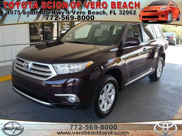 2011 Toyota Highlander Base SUV for sale in Vero Beach for $23,158 with 50,316 miles.