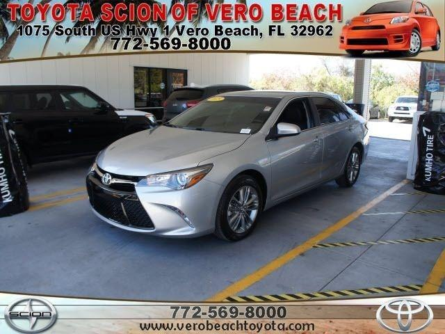 2015 Toyota Camry Sedan for sale in Vero Beach for $23,956 with 1,440 miles.