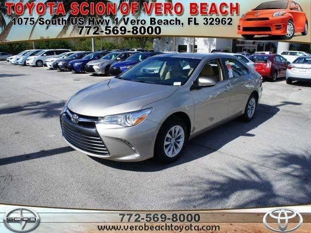 2015 Toyota Camry Sedan for sale in Vero Beach for $22,175 with 202 miles