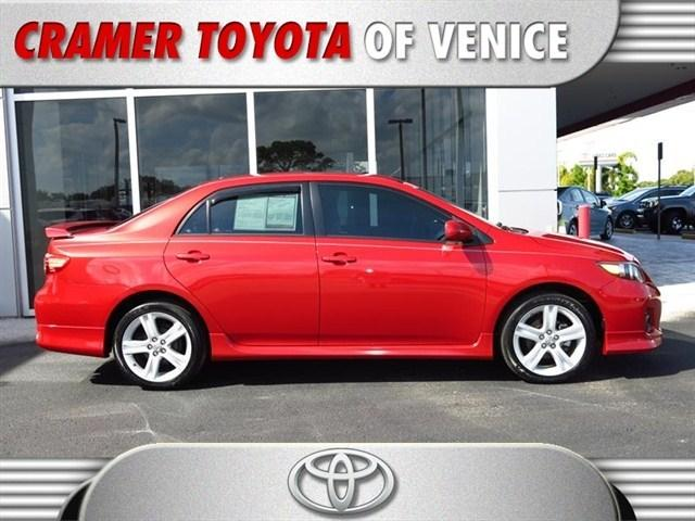 2013 Toyota Corolla Sedan for sale in Venice for $14,997 with 16,796 miles.