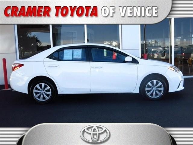2014 Toyota Corolla Sedan for sale in Venice for $15,500 with 26,033 miles.
