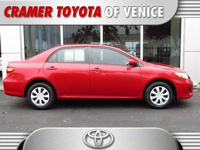 2011 Toyota Corolla LE Sedan for sale in Venice for $13,997 with 25,528 miles.