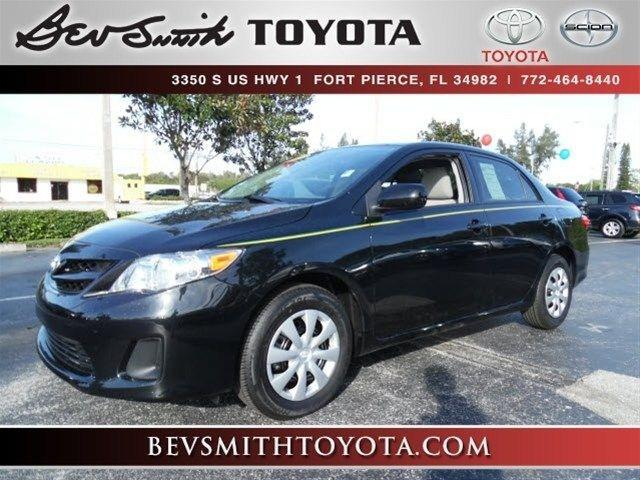 2013 Toyota Corolla Sedan for sale in Fort Pierce for $14,981 with 17,270 miles.