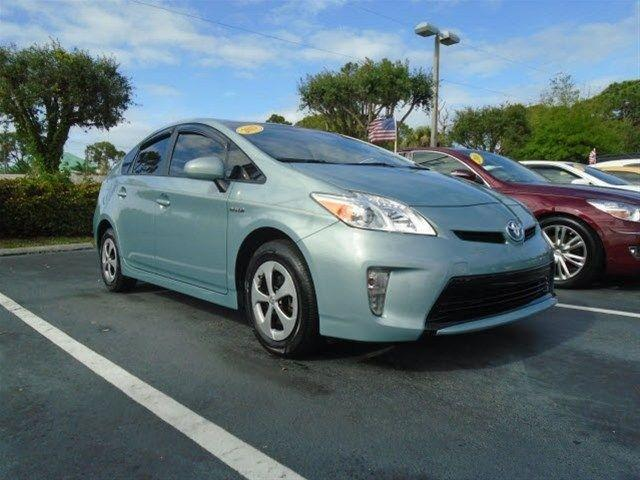 2013 Toyota Prius Hatchback for sale in Stuart for $17,995 with 37,607 miles