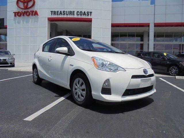 2012 Toyota Prius C One Hatchback for sale in Stuart for $12,454 with 49,966 miles