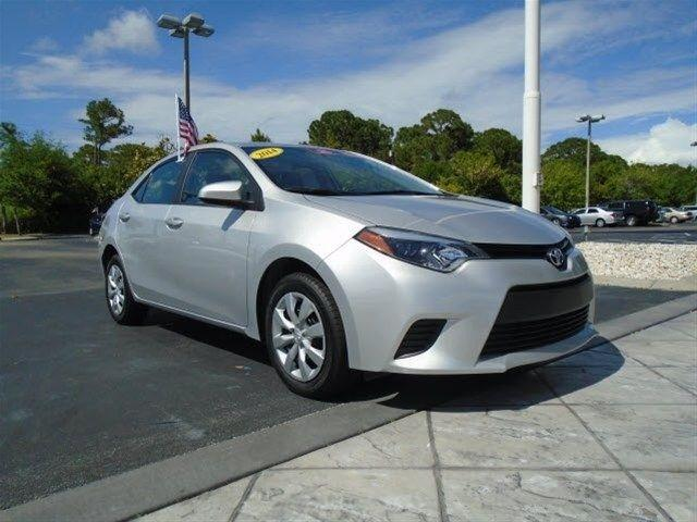 2014 Toyota Corolla Sedan for sale in Stuart for $16,798 with 10,796 miles
