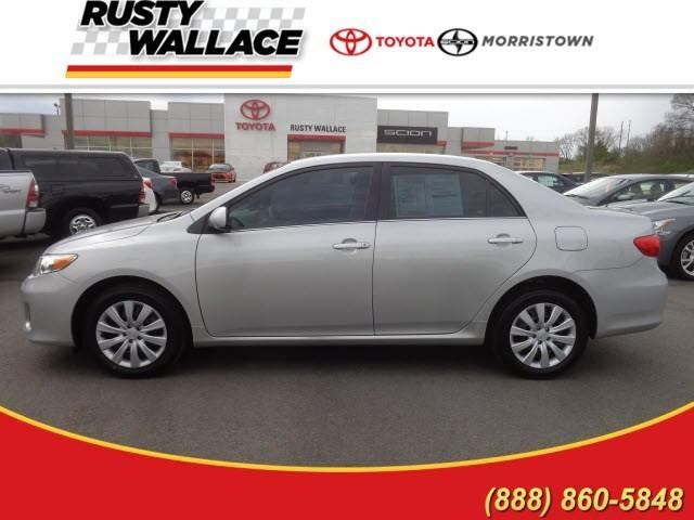 2013 Toyota Corolla LE Sedan for sale in Morristown for $16,777 with 33,422 miles