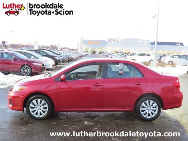 2013 Toyota Corolla LE Sedan for sale in Minneapolis for $15,493 with 12,278 miles