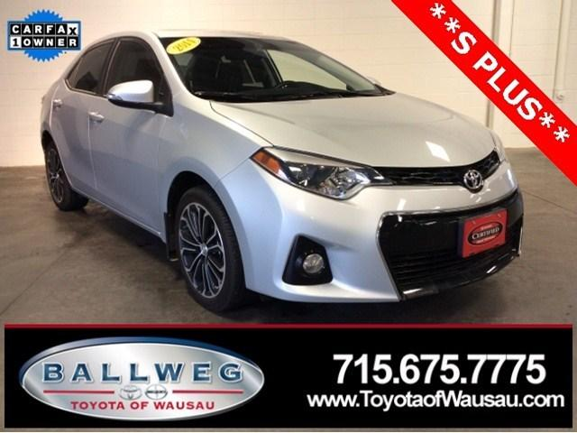 2014 Toyota Corolla S Plus Sedan for sale in Watertown for $17,214 with 8,477 miles
