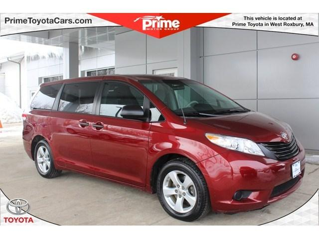 2012 Toyota Sienna Base Minivan for sale in West Roxbury for $21,500 with 36,143 miles