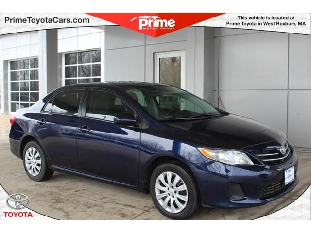 2013 Toyota Corolla LE Sedan for sale in West Roxbury for $14,000 with 27,508 miles