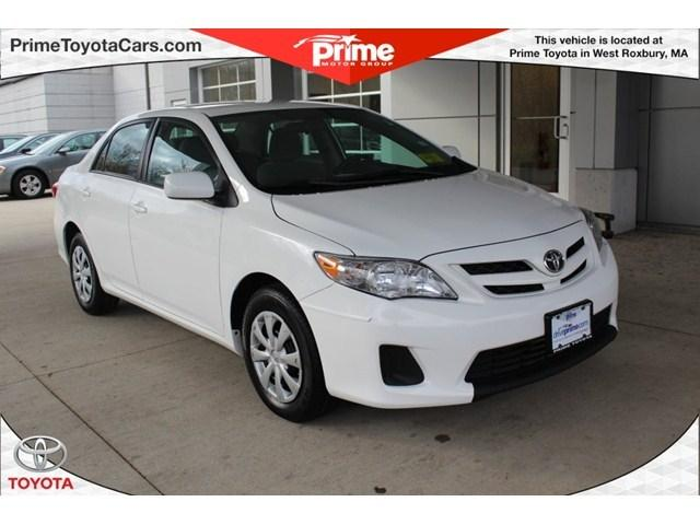2011 Toyota Corolla LE Sedan for sale in West Roxbury for $11,500 with 45,750 miles.