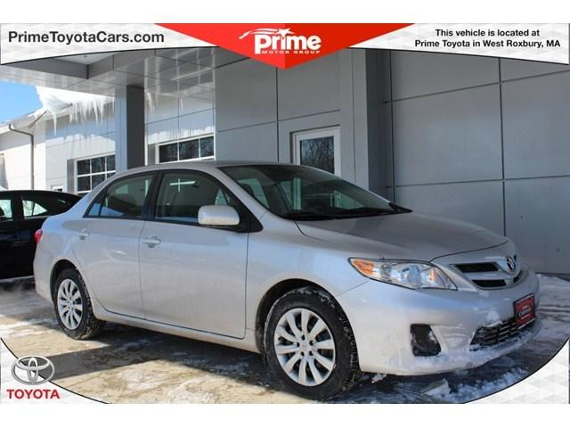 2012 Toyota Corolla LE Sedan for sale in West Roxbury for $13,000 with 51,214 miles.